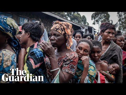 DRC volcano: thousands