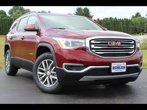 2017 GMC Acadia SLE-2 3.6L V6 Start Up, Complete Tour, and Review
