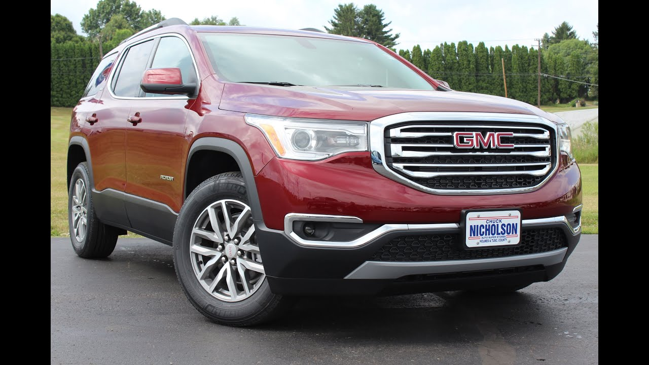 2017 GMC Acadia SLE 2 3 6L V6 Start Up  Complete Tour  and Review     2017 GMC Acadia SLE 2 3 6L V6 Start Up  Complete Tour  and Review   YouTube