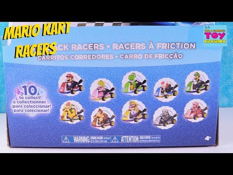 Mario Kart Pull Back Racers Full Set? Toy Review Opening | PSToyReviews