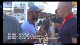 Кавказцы, беспредел на дорогах