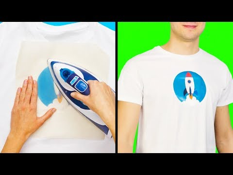 13 SIMPLE DIY CLOTHES DECOR IDEAS