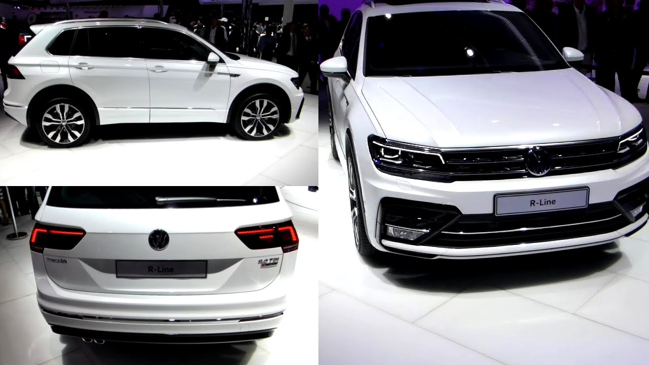 2016 vw tiguan r line exterieur in detail iaa 2015 youtube. Black Bedroom Furniture Sets. Home Design Ideas