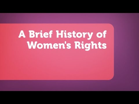A Brief History of Women
