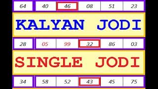 Kalyan Jodi Today Kalyan Fix jodi Today कल्याण जोड़ी आज कल्याण फिक्स जोडी टुडे