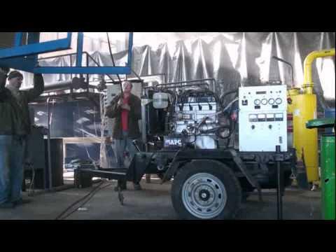Получение электричества из газогенератора