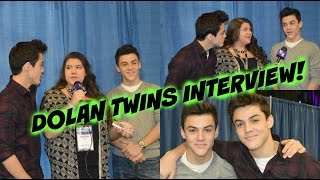 Kelly Phillips Interviewing The Dolan Twins | Reality Connect