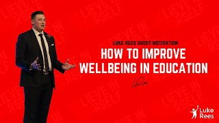 How to improve wellbeing in education | IPEN 2017