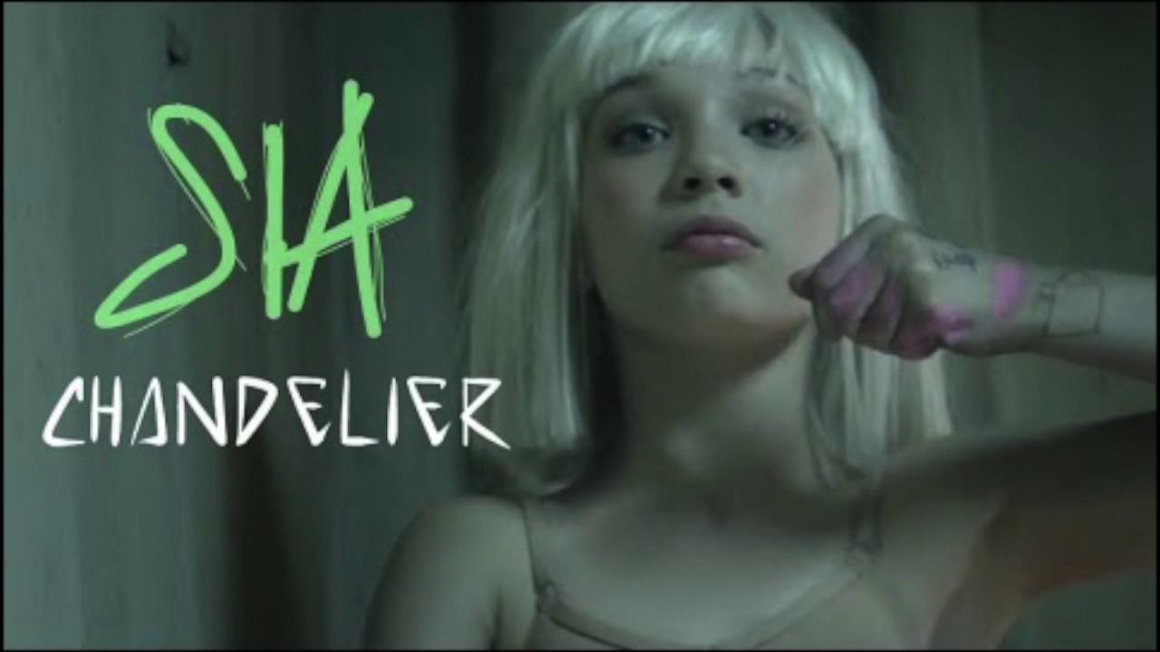 Sia Chandelier lyrics - YouTube