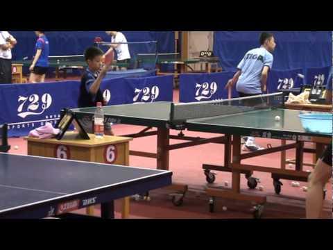 板橋信義國小桌球隊簡敬倫...比賽過程 | Doovi