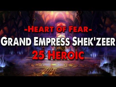 Method vs Grand Empress Shek'zeer (25 Heroic)