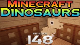 Minecraft Dinosaurs! - Episode 148 - Follow me, raptor minions!