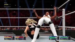 WWE 2K17 Women s Tag Team Championship Match   The Bella Twins vs