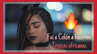 Box braids/ trenzas africanas desde COLON MI TIERRA.