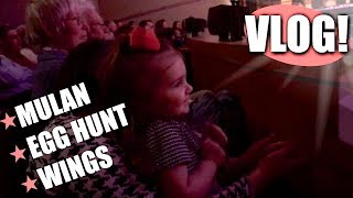 "VLOG | ""The Best Night Ever"", Egg Hunt & More"