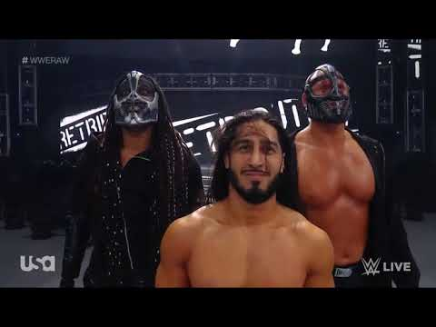 Download WWE Monday night row Full show Mustafa Ali vs  mvp