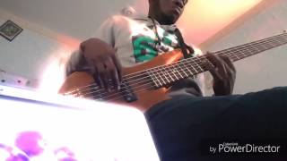 Joe mettle turn around Bass cover