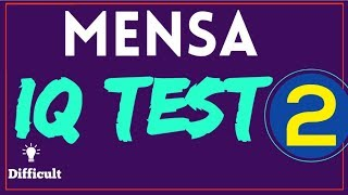Mensa IQ Test : (10 Questions) - Part - 2