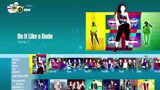 Just Dance 2017 | Song List Menu