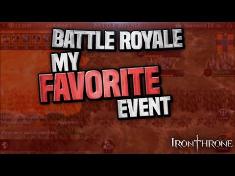 THIS VIDEO SHOWS YOU WHY THIS GAME IS SO MUCH FUN - BATTLE ROYALE - IRON THRONE