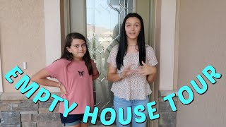 EMPTY HOUSE TOUR OF OUR NEW HOME! EMMA AND ELLIE