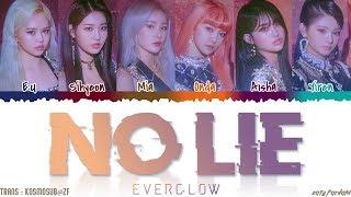 Download Lagu EVERGLOW - 'NO LIE' Lyrics [Color Coded_Han_Rom_Eng] mp3