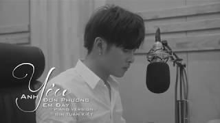 Anh Yêu Đơn Phương Em Đấy [Piano Version Full] | Gin Tuấn Kiệt - OST Sitcom Gia Đình Là Số 1