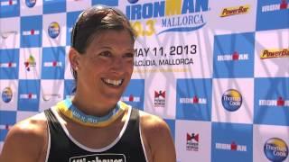 Lisa Hütthaler wins 2013 Ironman Mallorca 70.3