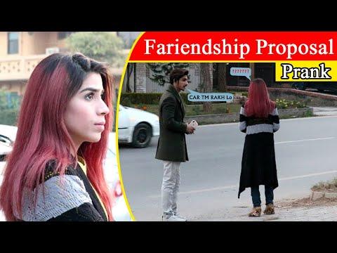 Friendship Proposal Prank In Islamabad Pakistan | Best Prank