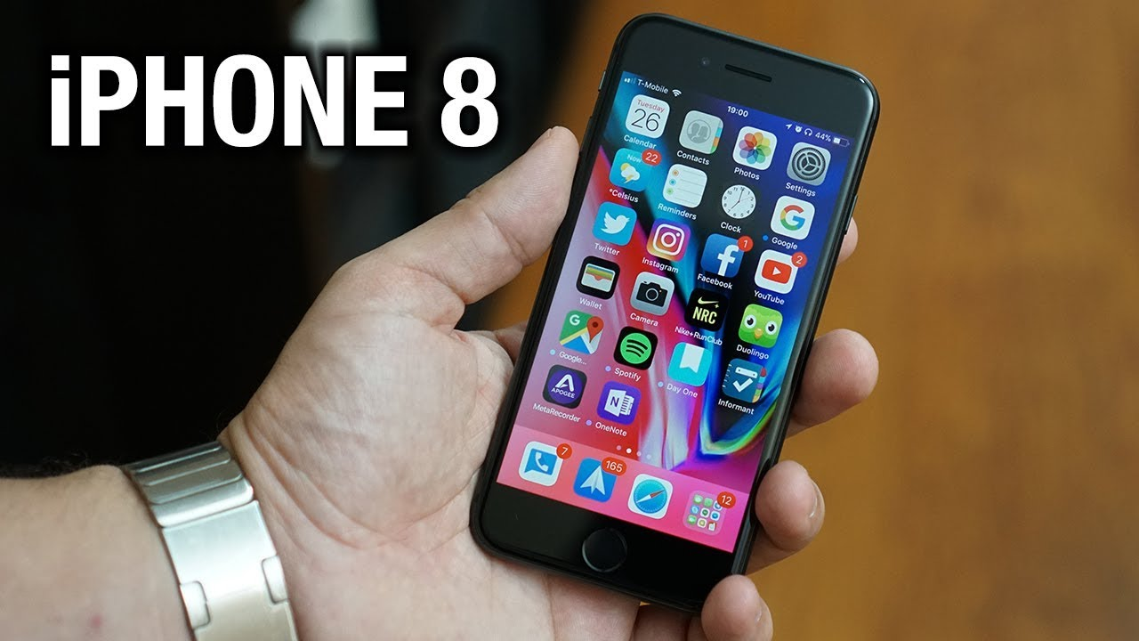 a weekend with the iphone 8 pocketnow youtube. Black Bedroom Furniture Sets. Home Design Ideas