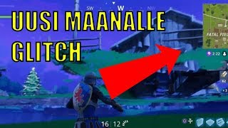 NEW HOW TO GET TO THE EARTH GLITCH (NEW UNDERGROUND GLITCH) FORTNITE