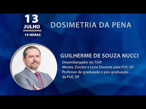 PALESTRA ESMEG - DOSIMETRIA DA PENA, com Guilherme de Souza Nucci
