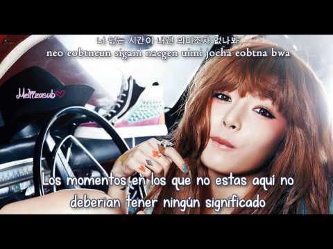 [SubEspañol] HyunA (4minute) - To My Boyfriend [Han+Rom]