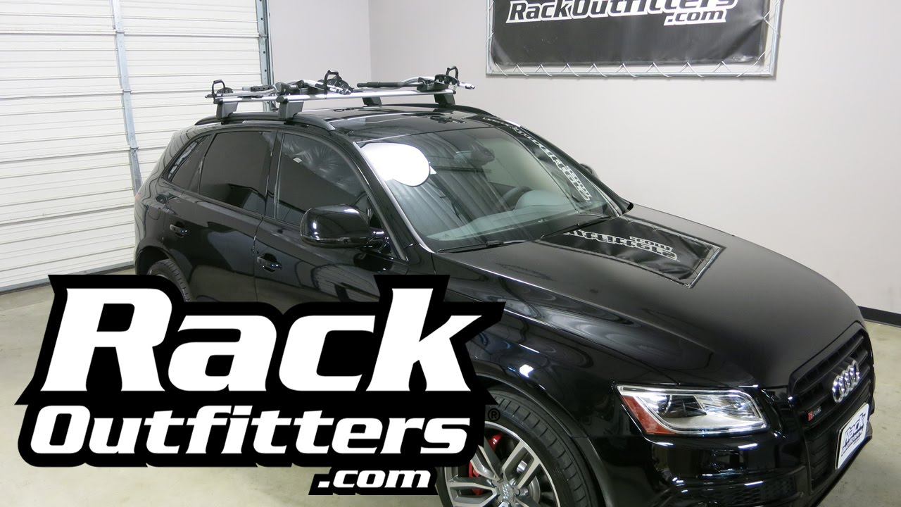 2016 Audi Q5 With Thule 598 Criterium Bike Carriers T