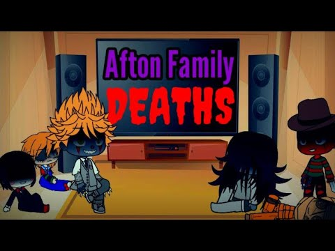 Download Horror Movies React To The Afton Family's Deaths [Gacha Club UwU]