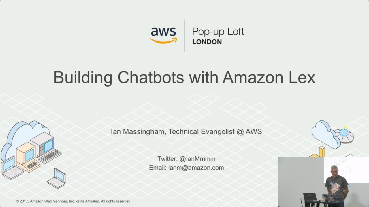 live from the london loft | deep dive: amazon lex - youtube