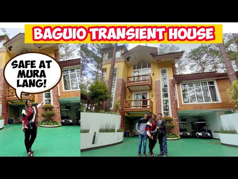 AFFORDABLE TRANSIENT HOUSE IN BAGUIO | WHERE TO STAY - SelfieQueenAnn Diaries