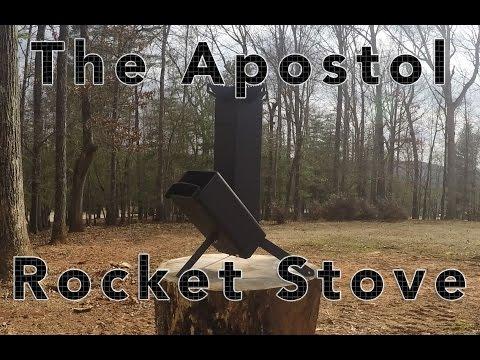 Apostol Rocket Stove