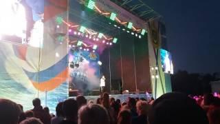 Севастополь.  День ВМФ. Концерт.