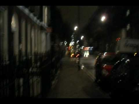 North Central London at night