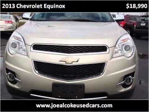 2013 chevrolet equinox used cars new bern nc youtube. Black Bedroom Furniture Sets. Home Design Ideas