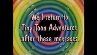 1992/93 - Commercials during Tiny Toons on WCAX-TV 3 CBS Burlington, Vermont
