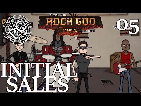 Initial Sales – Rock God Tycoon EP05 - Band Manager Business Tycoon Gameplay