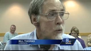 Pipeline controversy takes center stage at WGAL town meeting