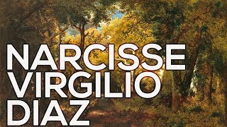 Narcisse Virgilio Diaz: A collection of 160 paintings (HD)