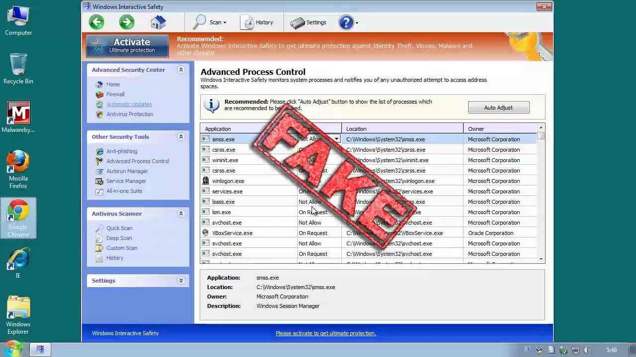Using Malwarebytes Chameleon to Remove Malware