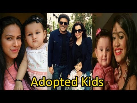 Top 16 Television & Bollywood Celebs Who Adopted Kids