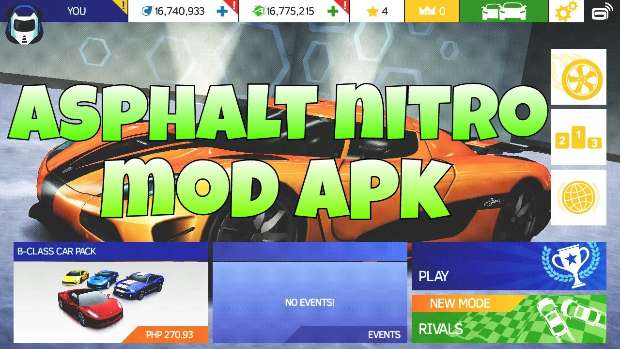 Asphalt Nitro Mod Apk 1 3 2a Mod Money - Android Modded Games