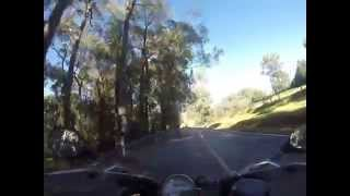 BMW S1000RR fun, Gembrook Launching Place Rd.