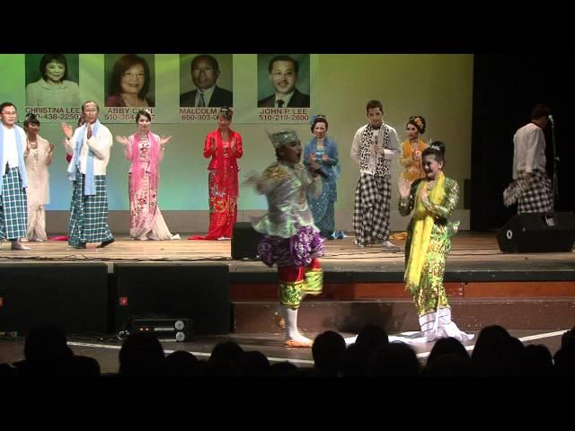 S.F. Anyeint Show and Music Concert. 8-6-11 Tin Mg San Min Win & Jenny